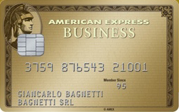 Carta di credito Oro Business American Express