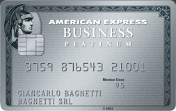 Carta di credito Platino Business American Express